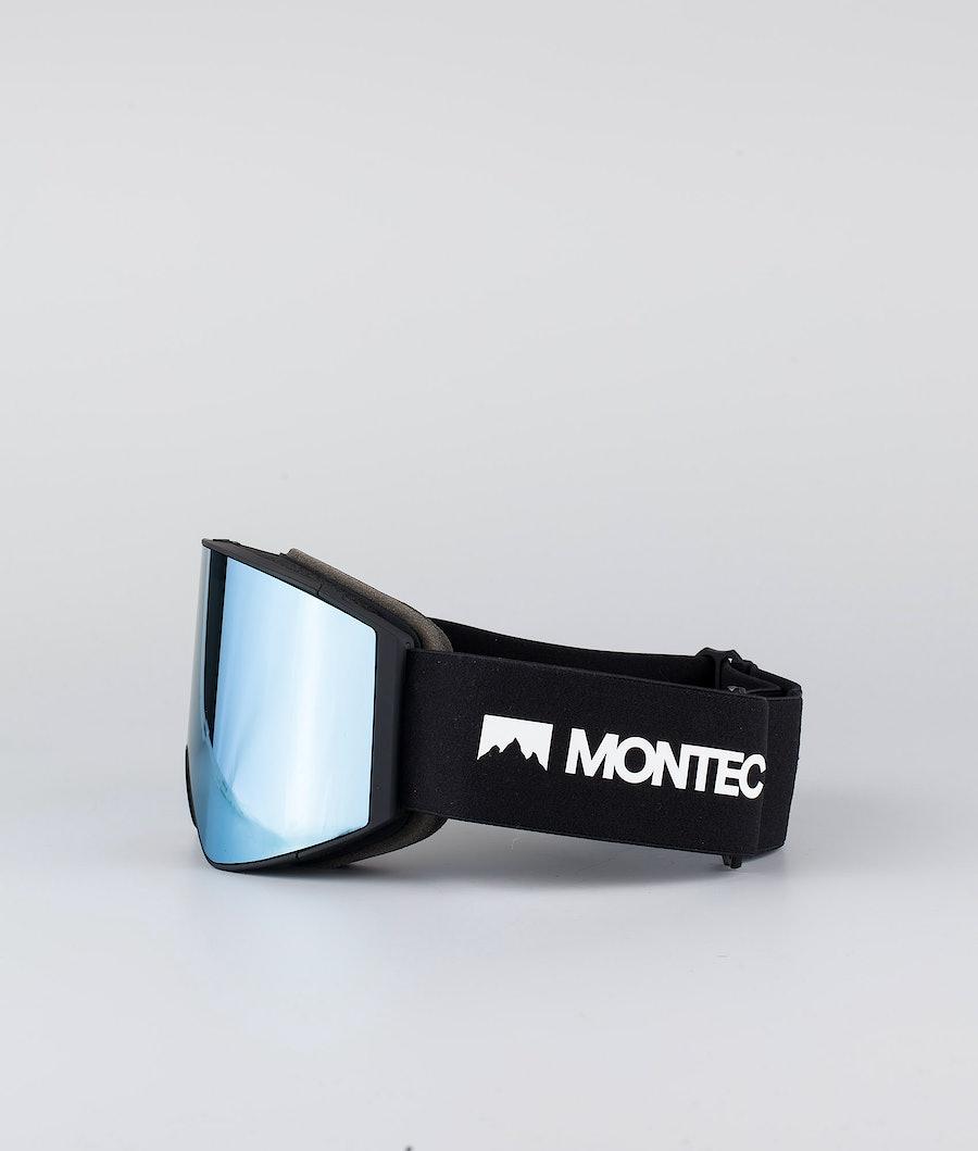 Montec Scope Large Ski Goggle Black W/Black Moon Blue