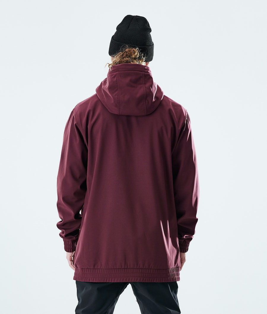 Dope Nomad Outdoor Jacket Burgundy