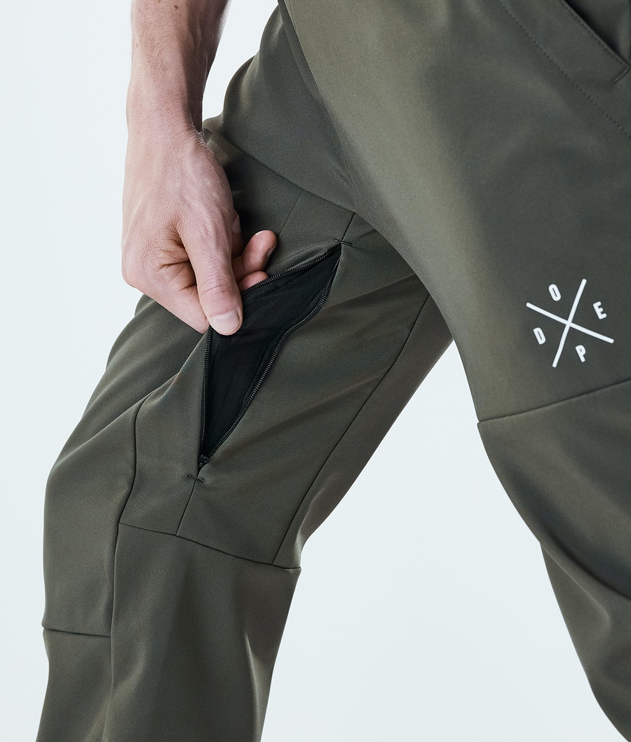 Dope Nomad Outdoor Trousers Olive Green