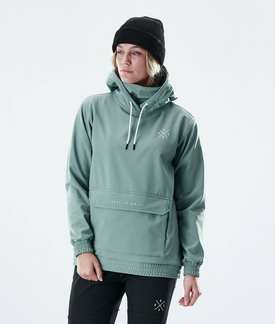Dope Nomad Women's Outdoor Jacket Faded Green