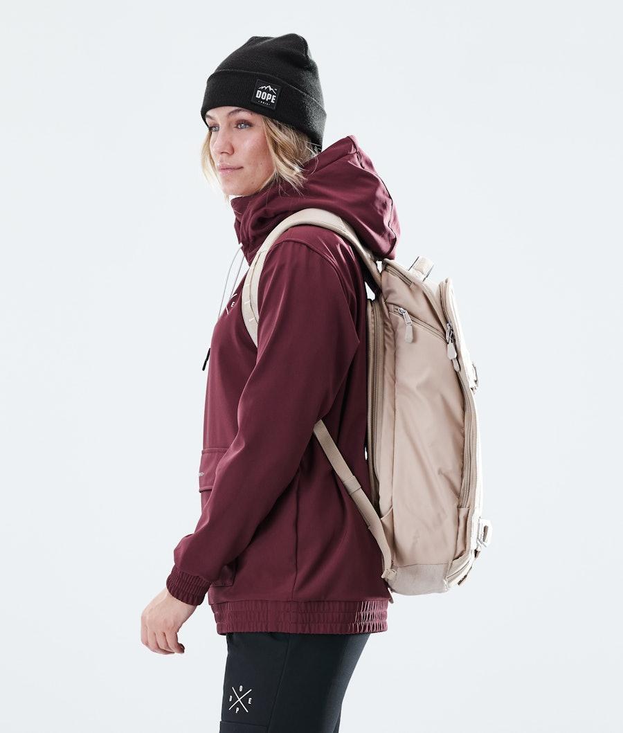 Dope Nomad Women's Outdoor Jacket Burgundy