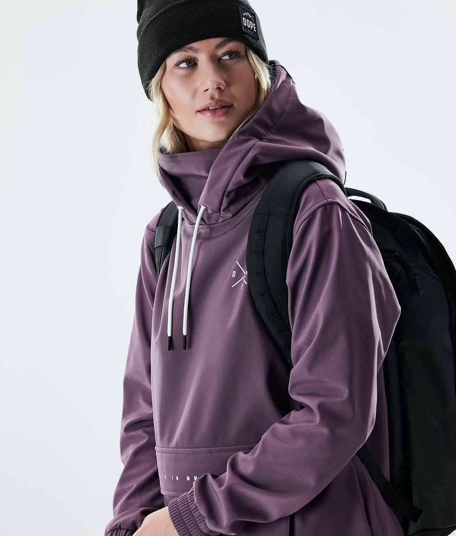 Dope Nomad Women's Outdoor Jacket Faded grape