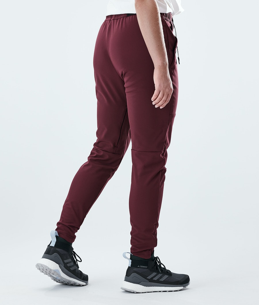 Dope Nomad W Women's Outdoor Trousers Burgundy