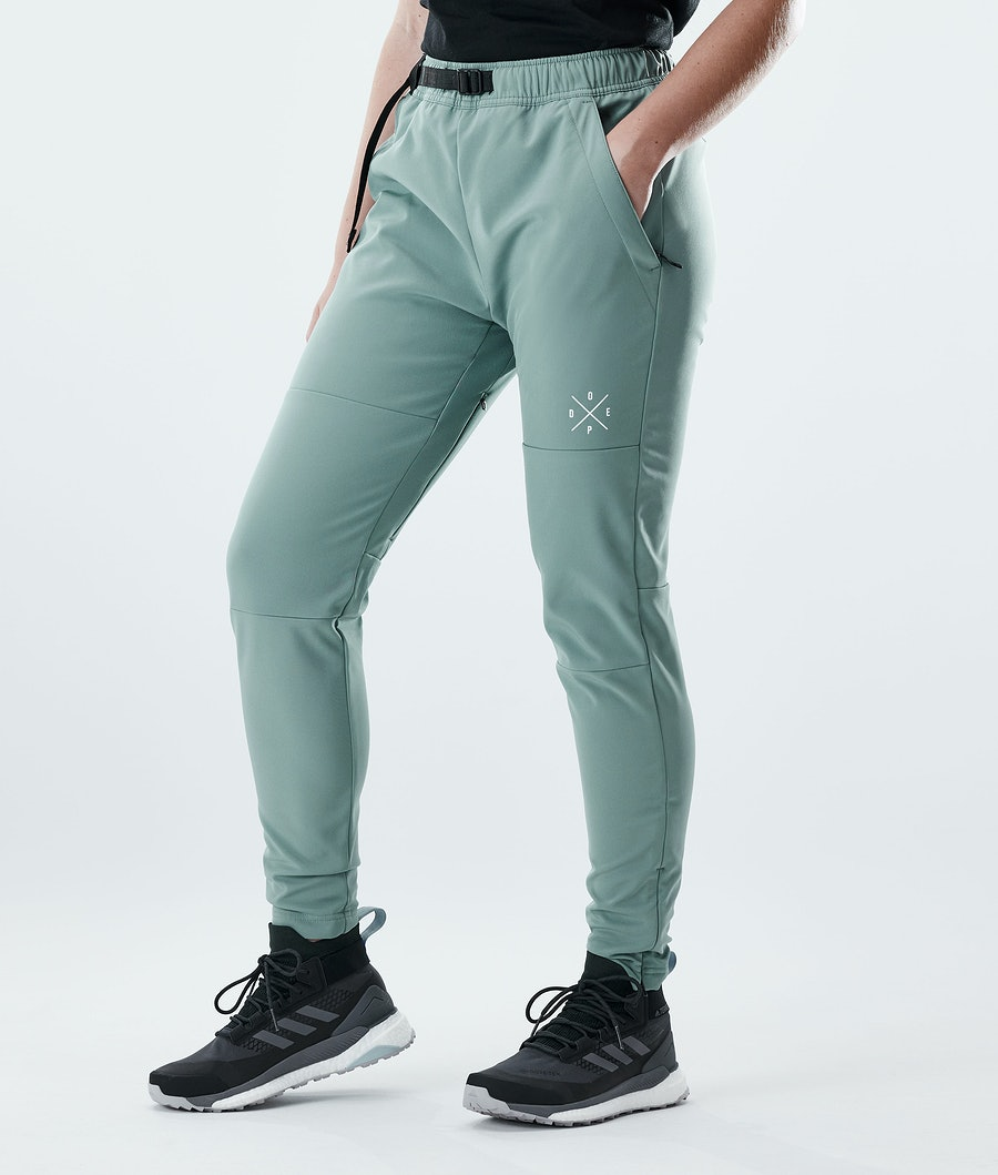 Nomad W Outdoor Pants Women Faded Green