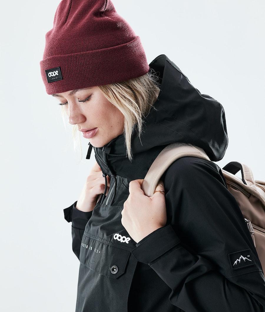 Dope Hiker W Women's Outdoor Jacket Black