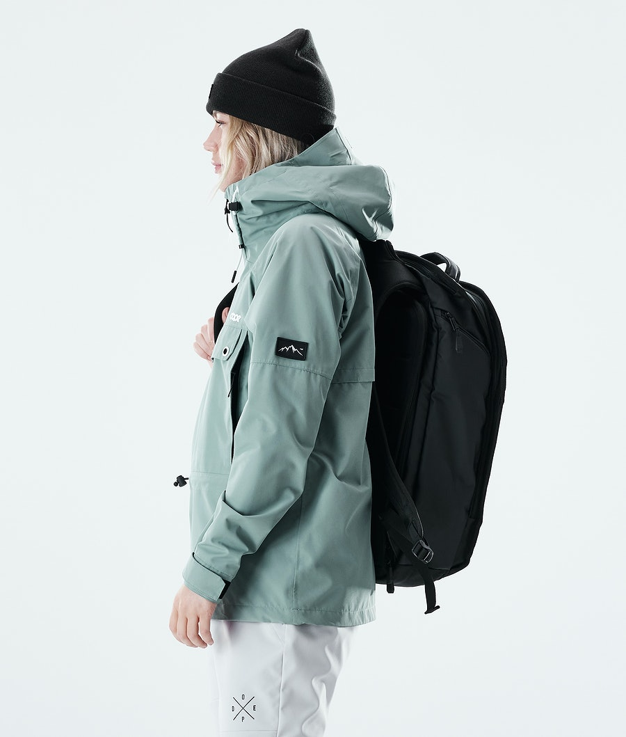 Dope Hiker W Giacca Outdoor Donna Faded Green