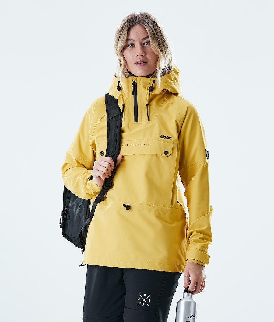 Dope Hiker W Outdoor Jacket Yellow