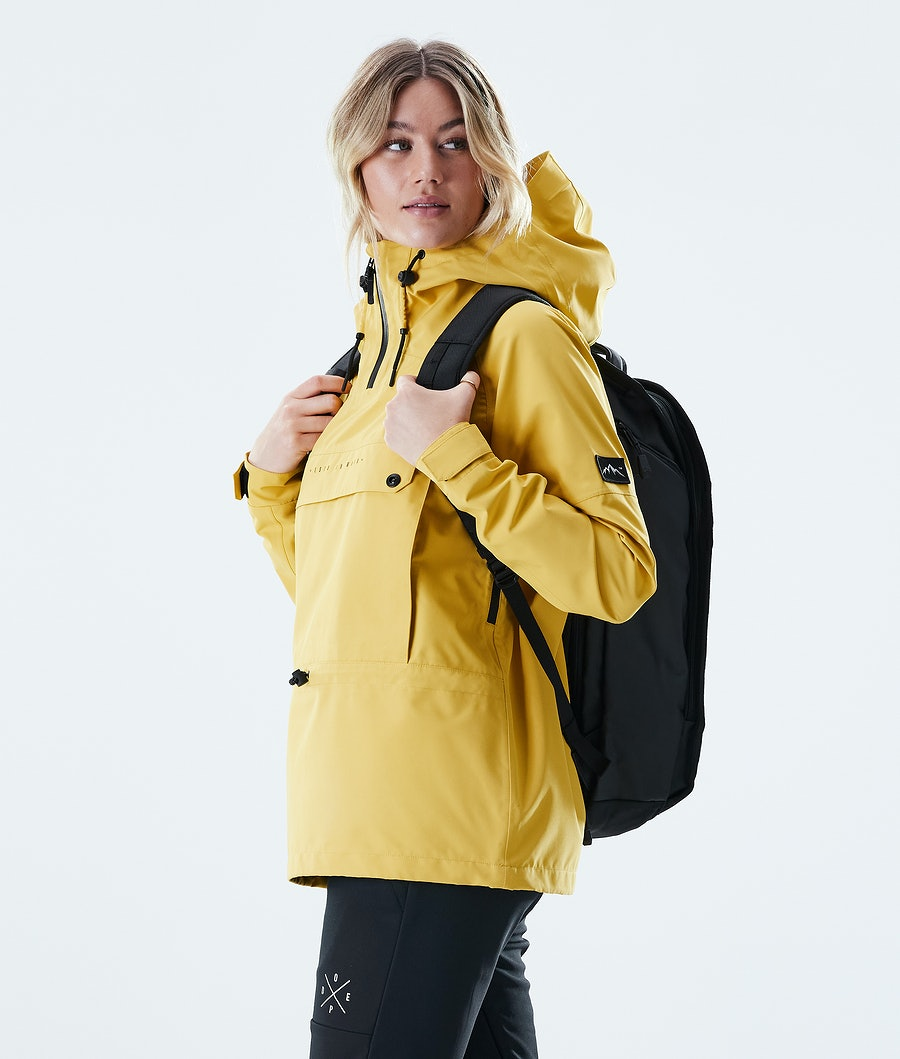Dope Hiker W Giacca Outdoor Donna Yellow