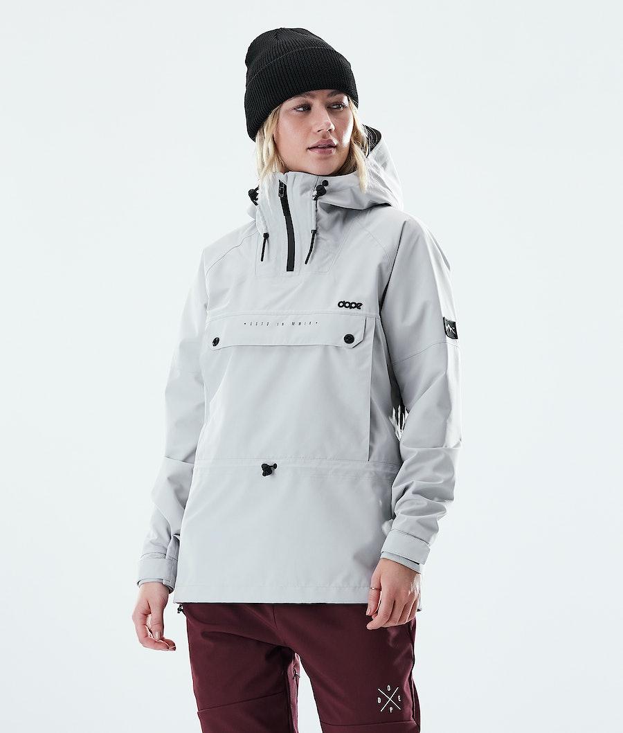 Dope Hiker W Outdoor Jacket Light Grey