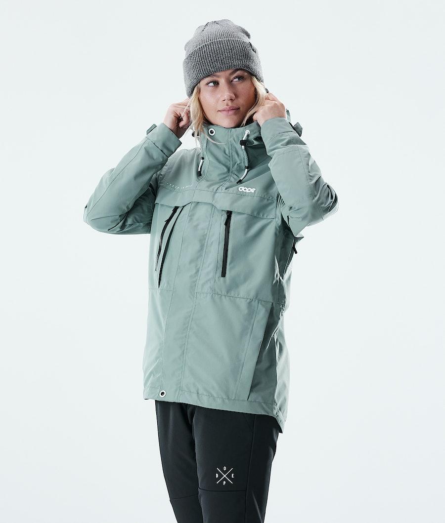 Dope Trekker W Outdoor Jacket Faded Green