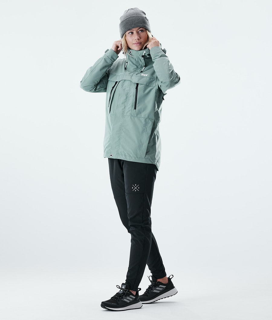 Dope Trekker W Giacca Outdoor Donna Faded Green