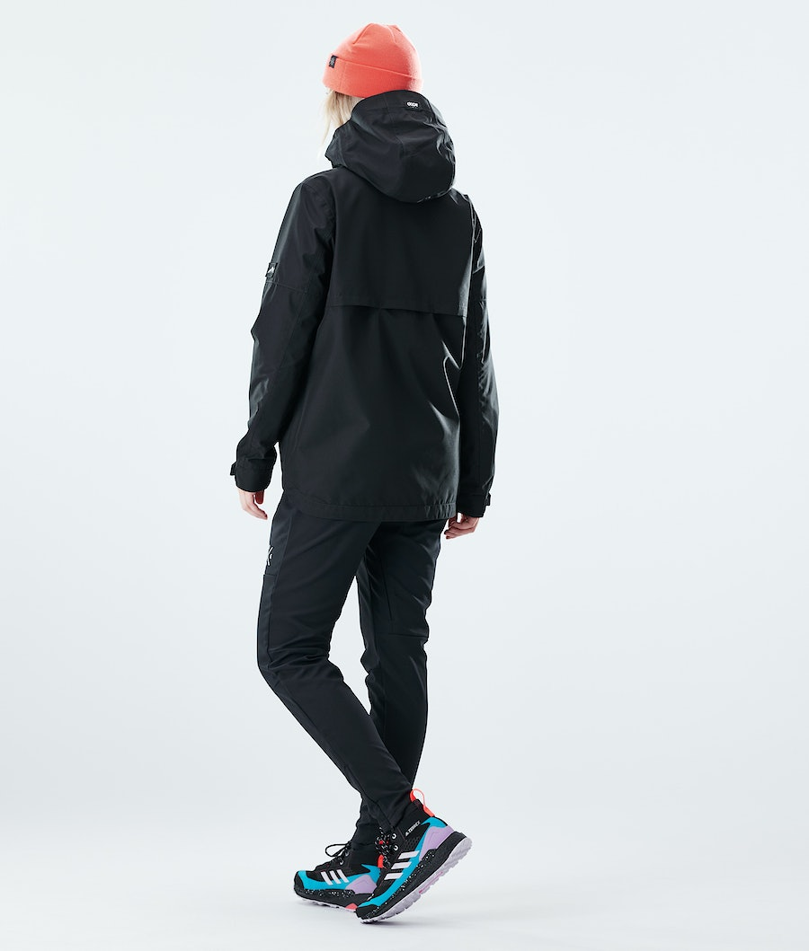 Dope Trekker W Women's Outdoor Jacket Black