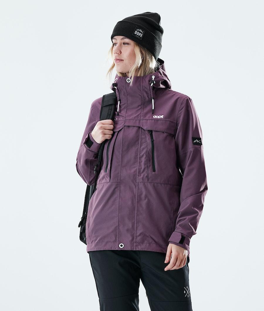 Dope Trekker W Women's Outdoor Jacket Faded Grape