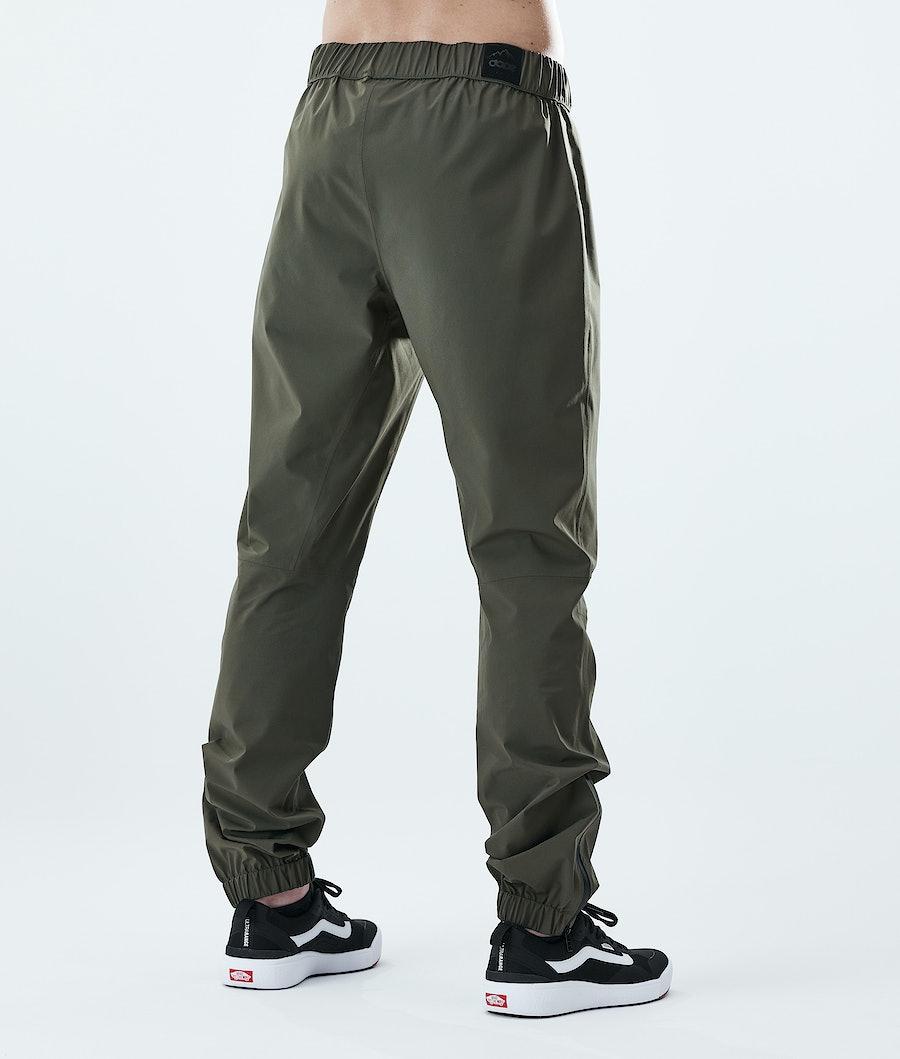 Dope Drizzard Pants Rain Pants Olive Green