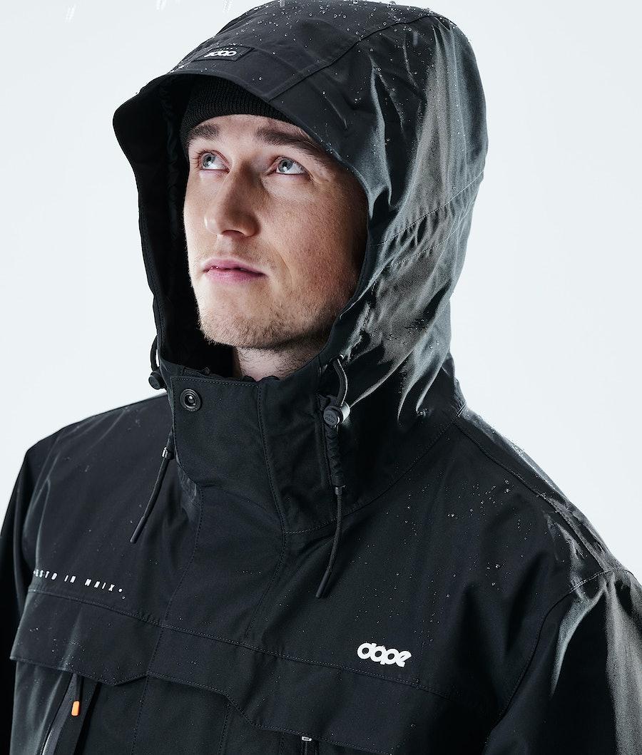 Dope Trekker Outdoor Jacket Black