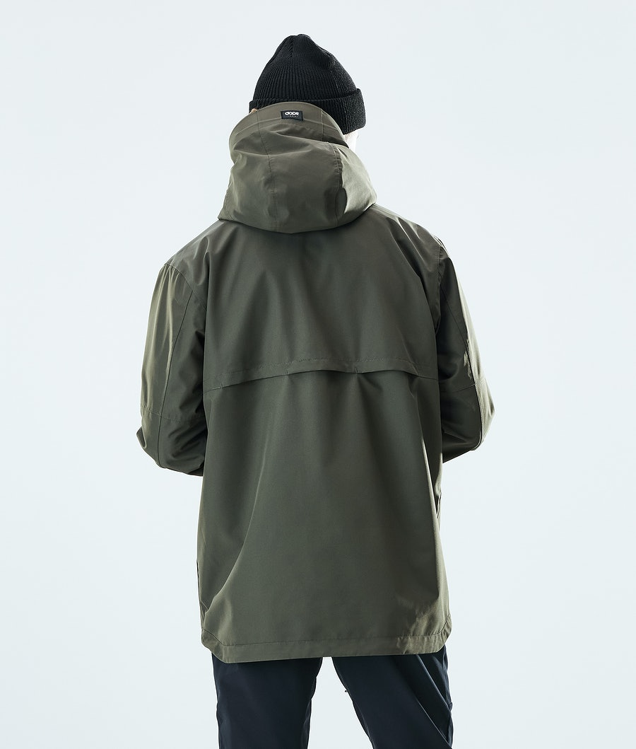 Dope Trekker Outdoor Jacket Olive Green