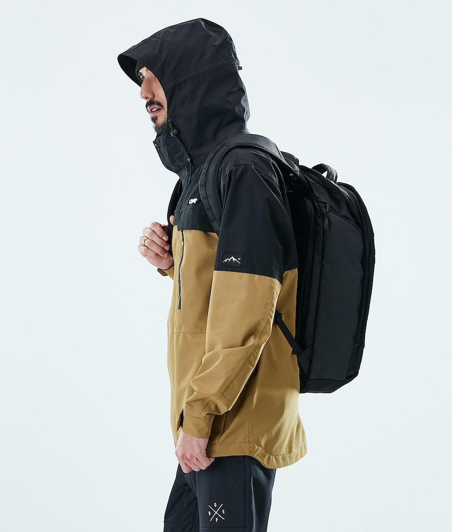 Dope Trekker Outdoor Jacket Black / Gold