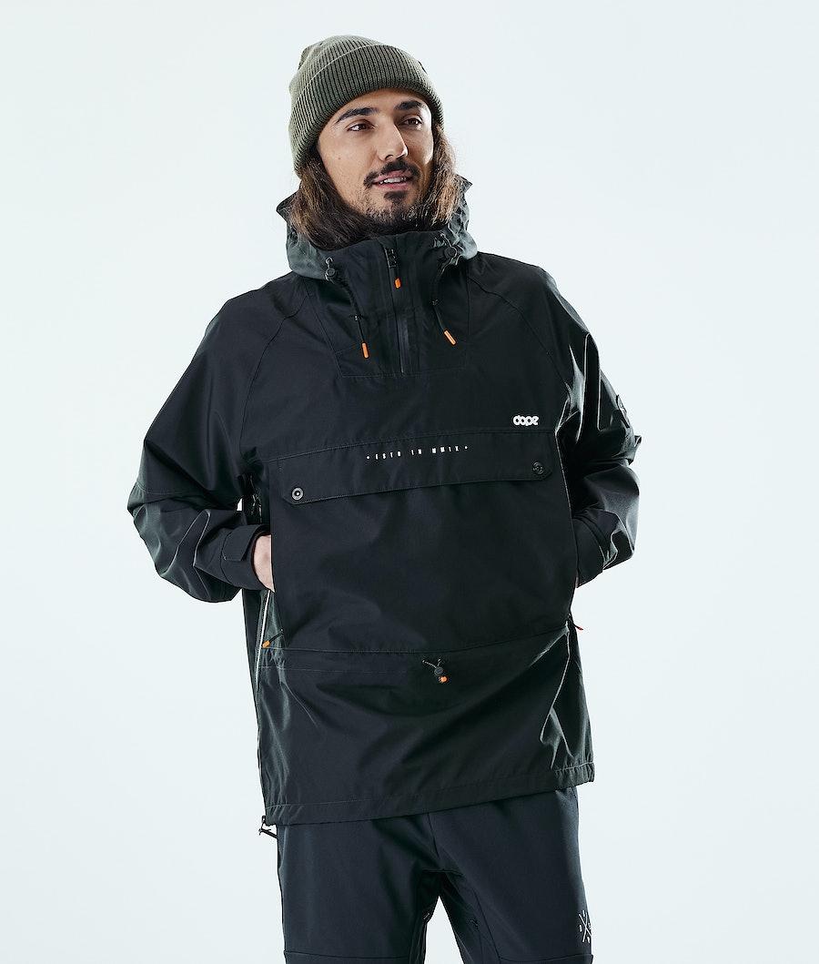 Dope Hiker Outdoor Jacket Black