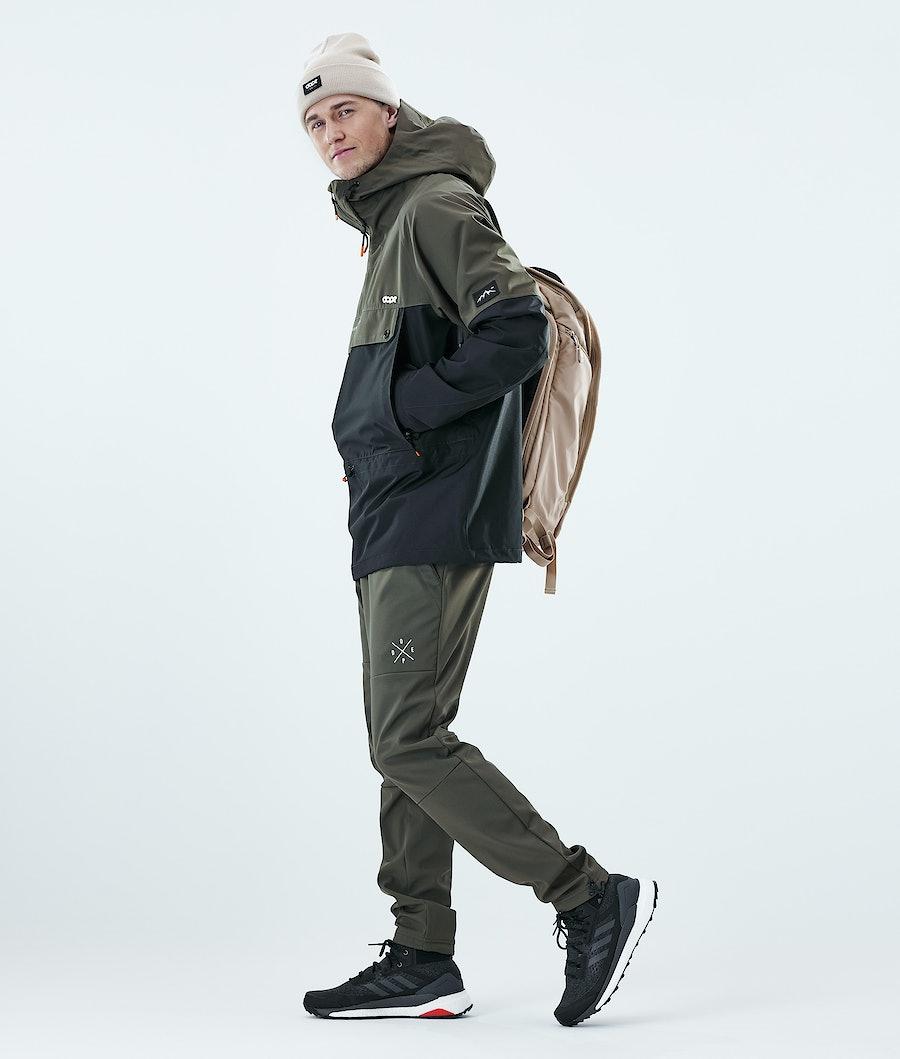 Dope Hiker Outdoor Jacket Olive Green / Black