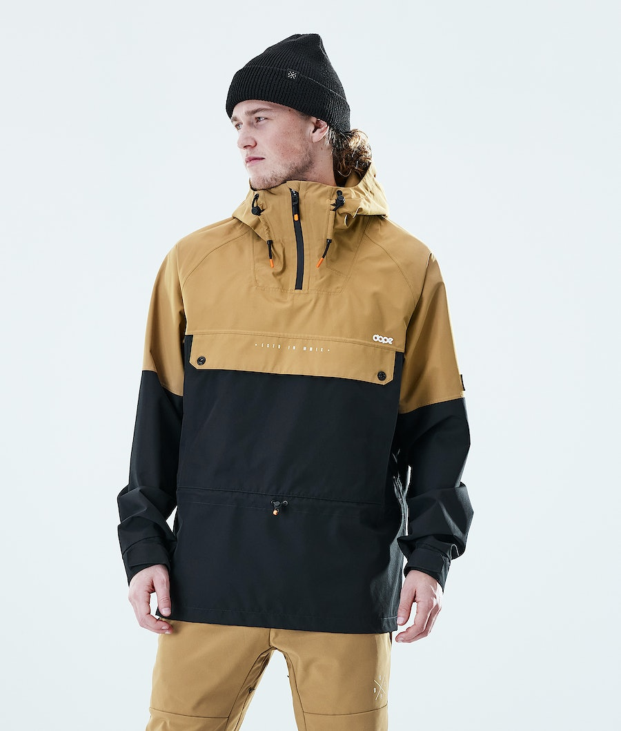 Dope Hiker Giacca Outdoor Gold / Black