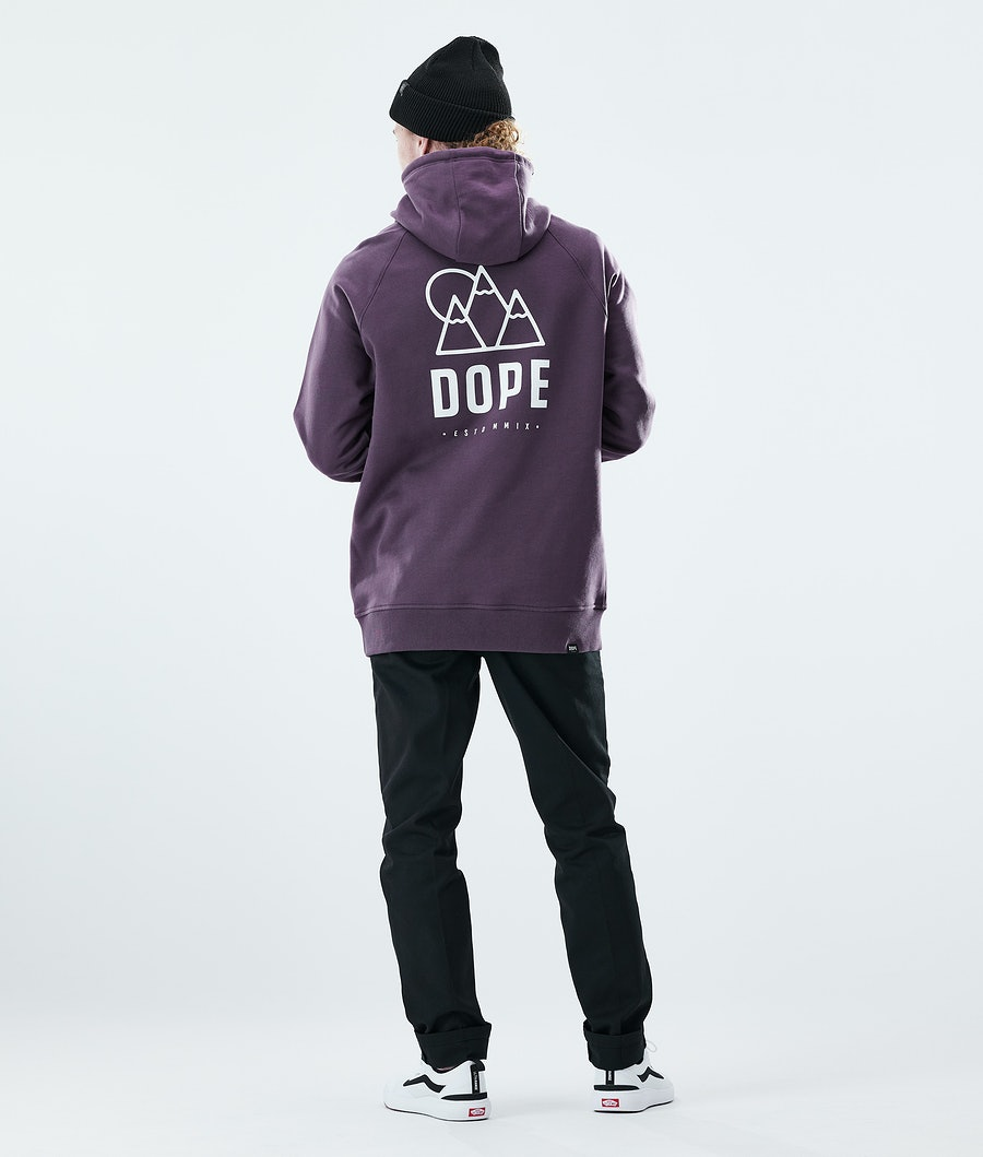 Dope Daily Rise Hoodie Faded Grape