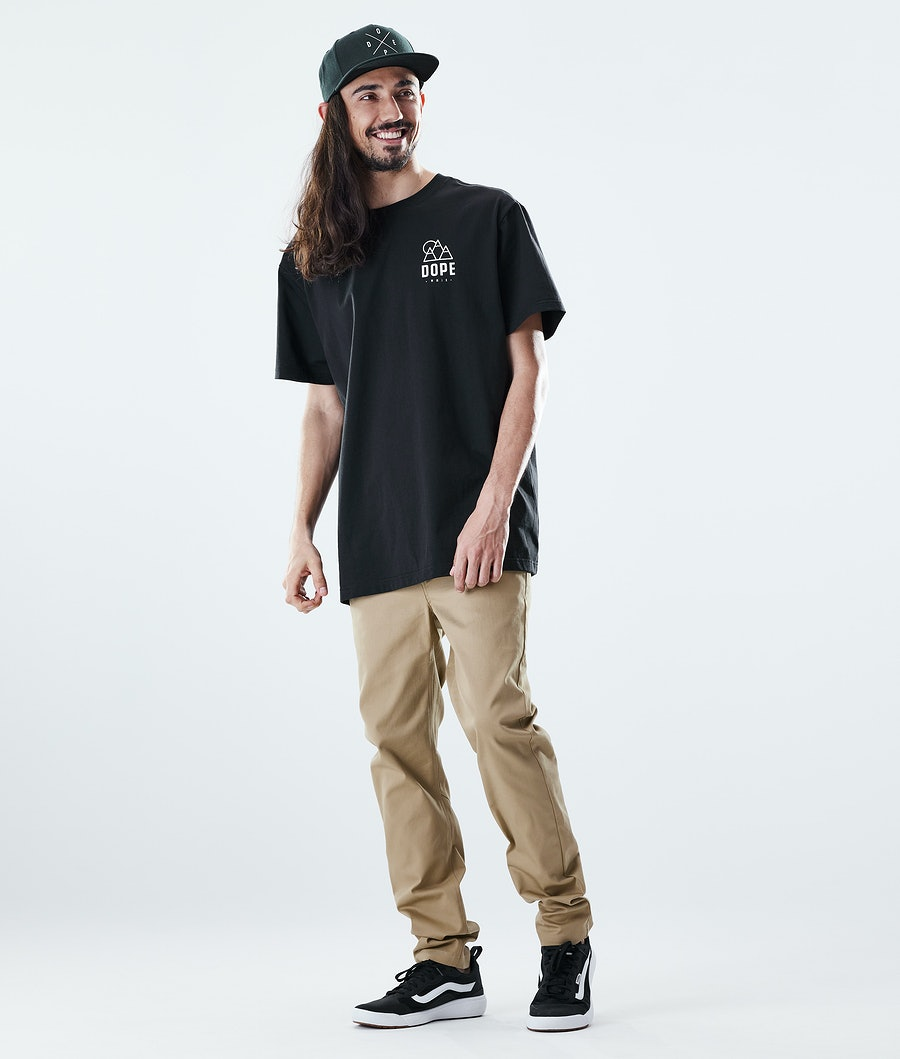 Dope Daily Rise T-shirt Black