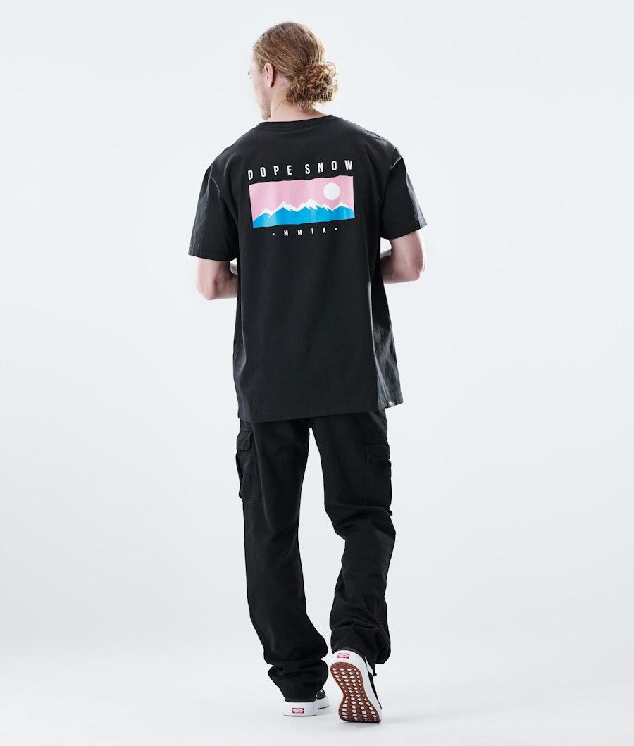 Dope Daily Range T-shirt Black