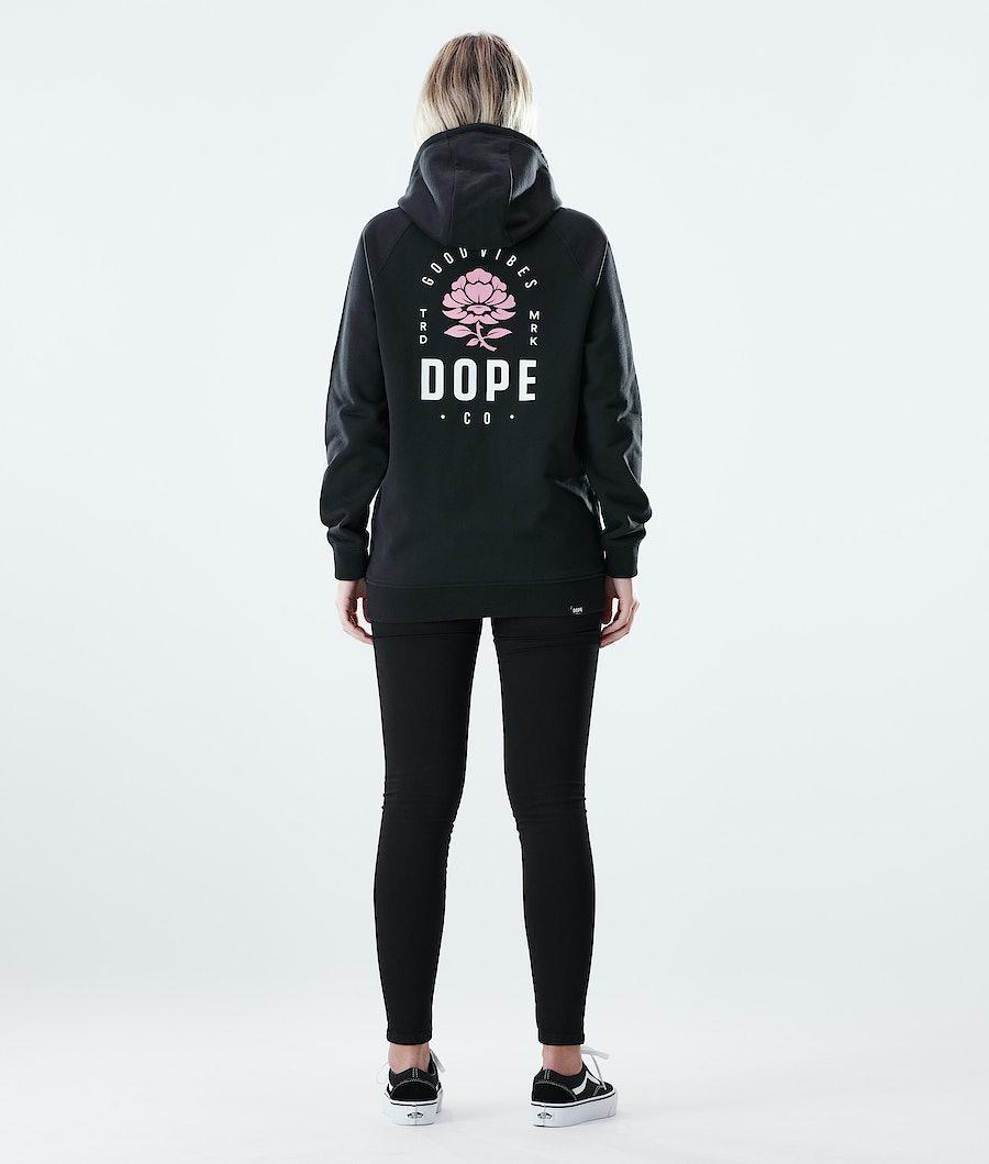 Dope Regular Rose Hood Dam Black