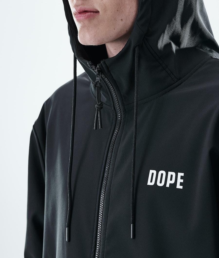 Dope Flight Zip Hoodie Black