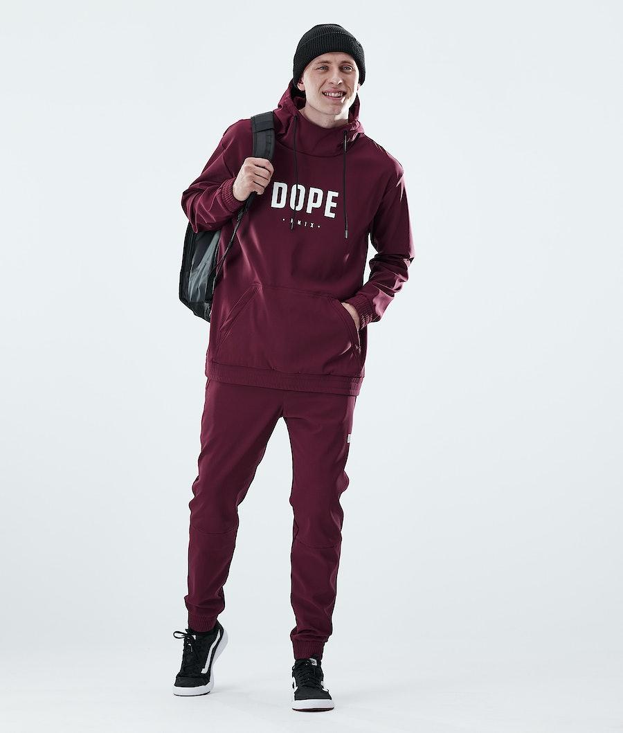 Dope Flight PO Hoodie Burgundy