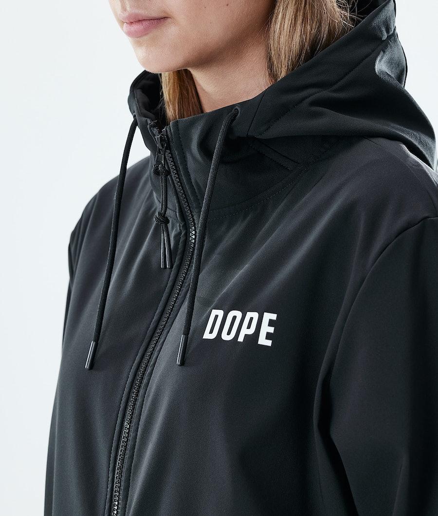 Dope Flight W Zip Women's Hoodie Black