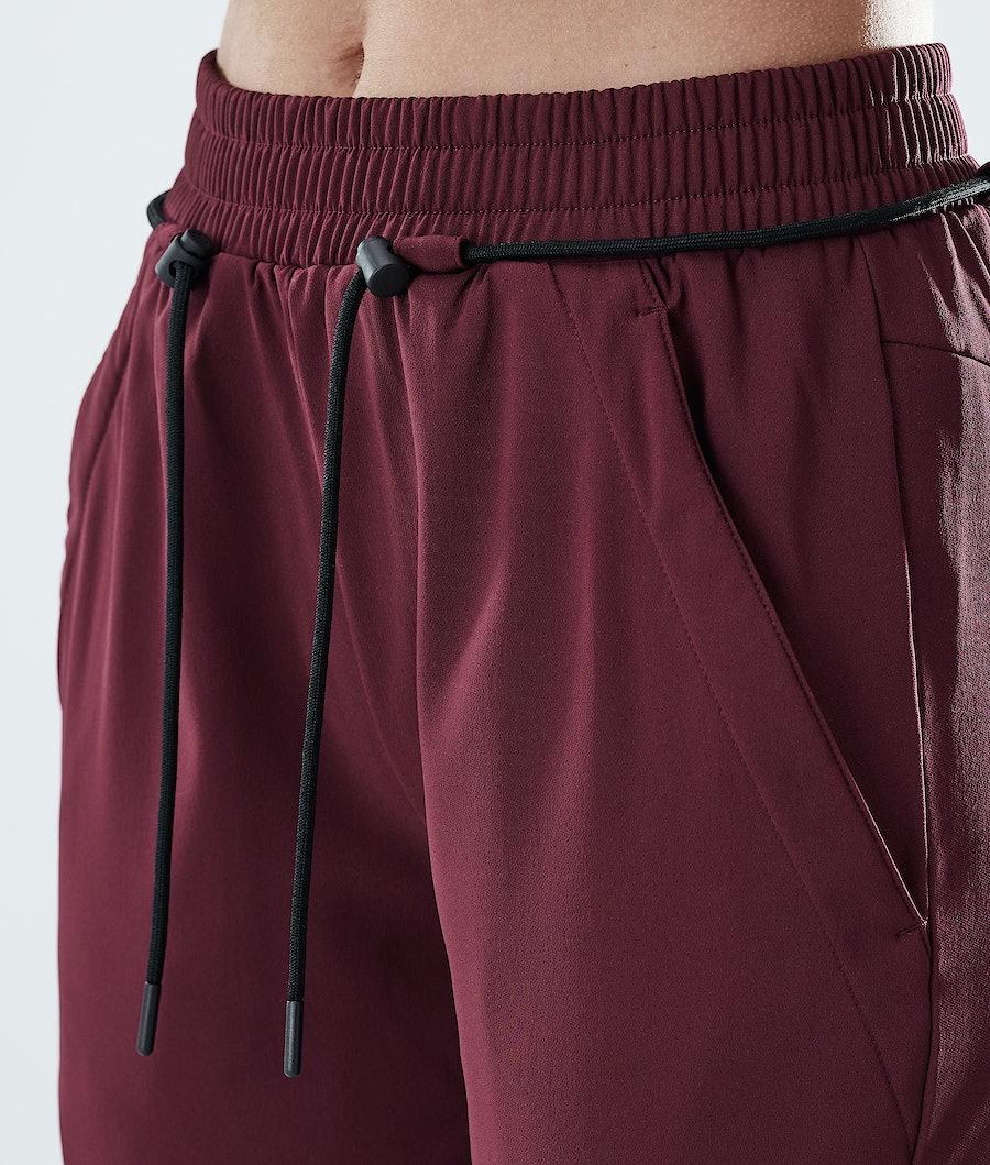 Dope Flight W Women's Pants Burgundy