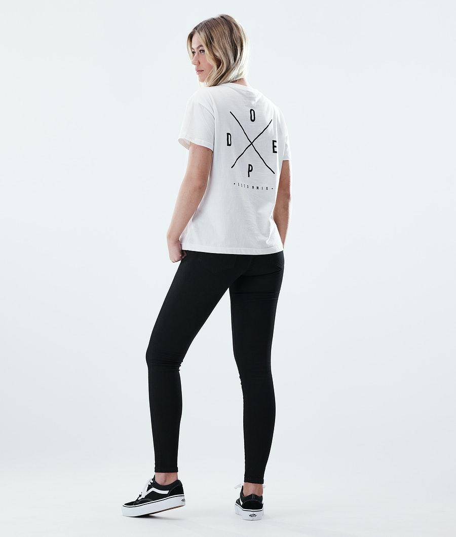 Dope Regular 2X-UP T-shirt Donna White
