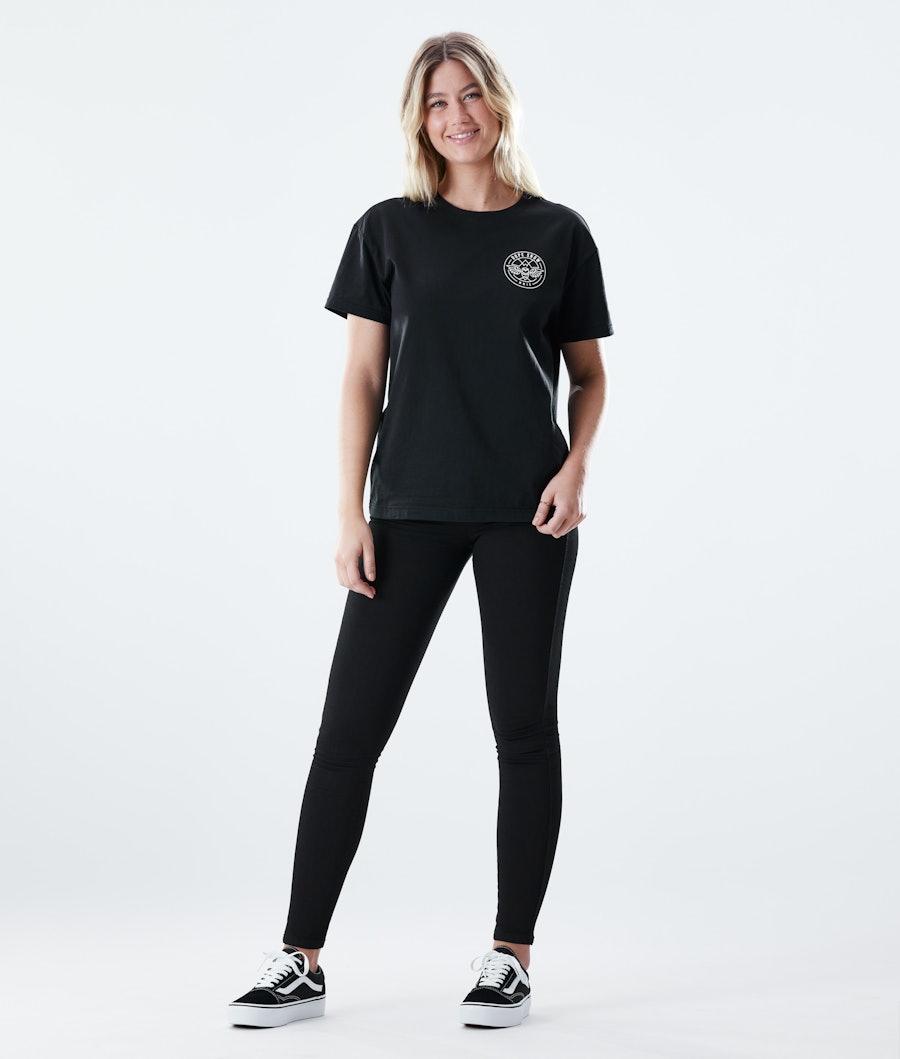 Dope Regular Beak T-shirt Donna Black