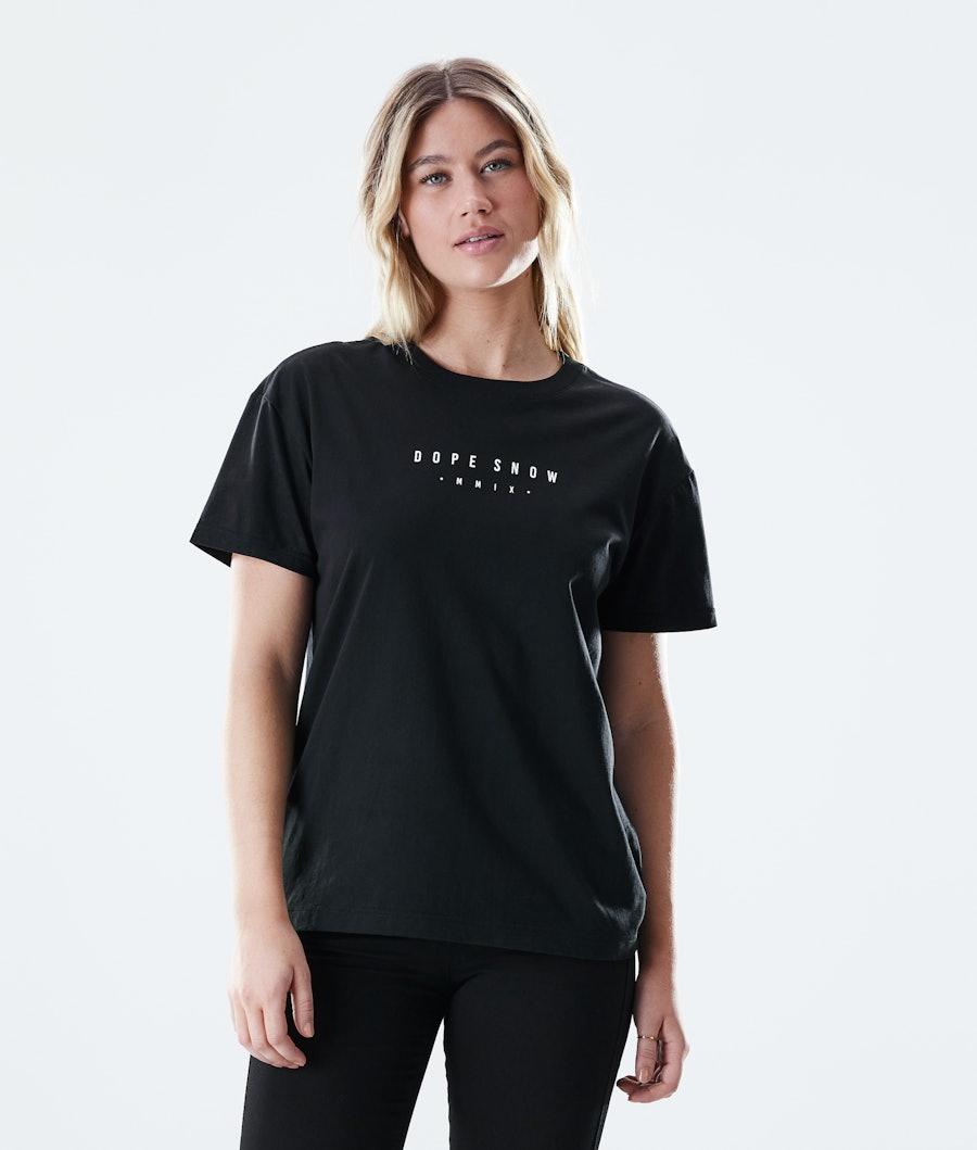 Dope Regular Range T-shirt Black