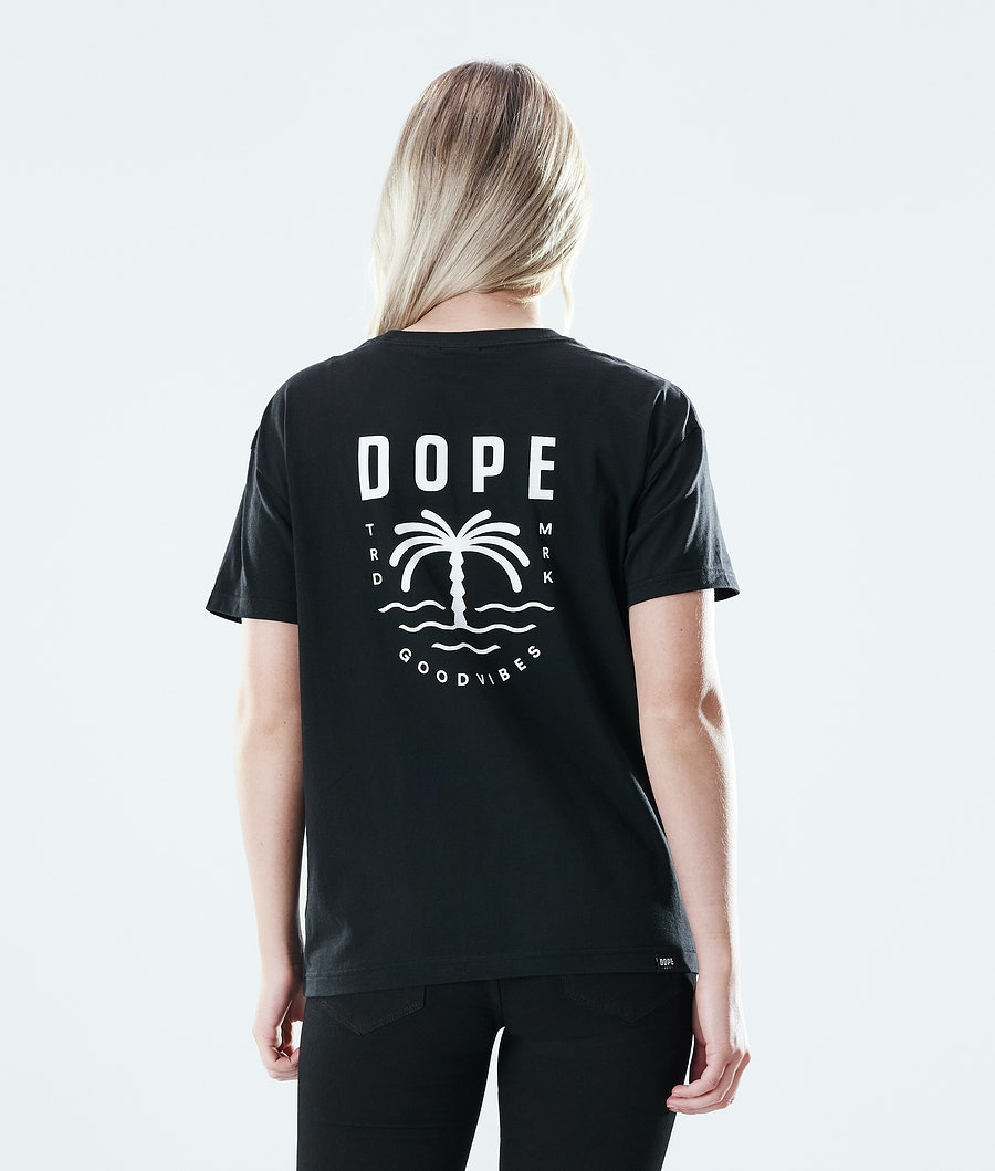 Dope Regular Palm T-shirt Black