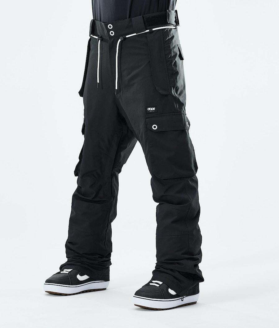 Dope Iconic Snowboard Pants Black