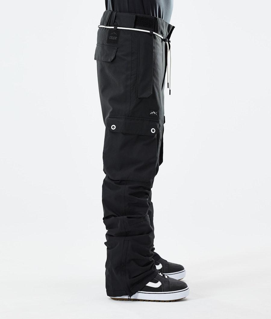 Dope Iconic Pantaloni Snowboard Black