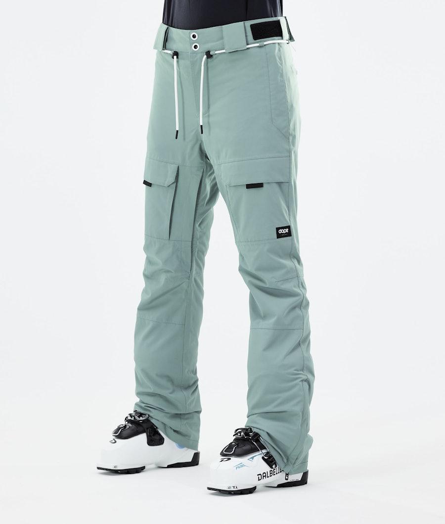 Dope Grace Ski Pants Faded Green