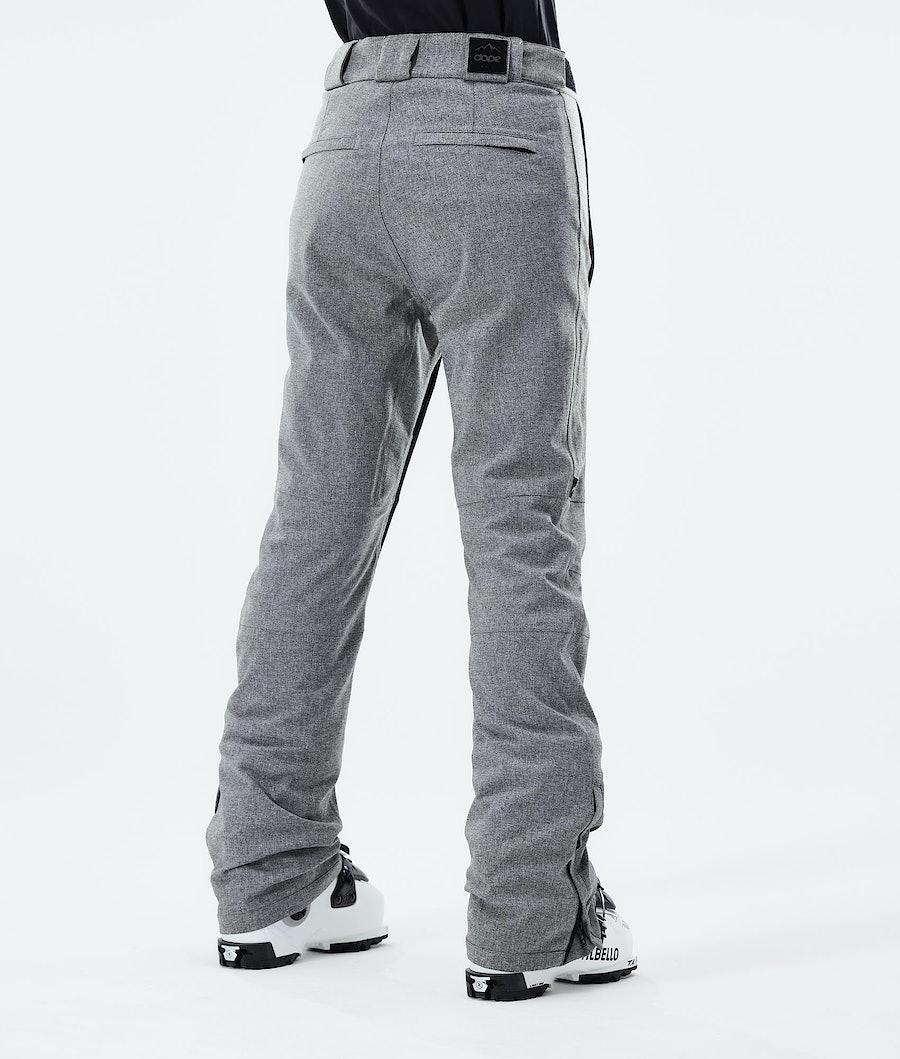 Dope Con Women's Ski Pants Grey Melange