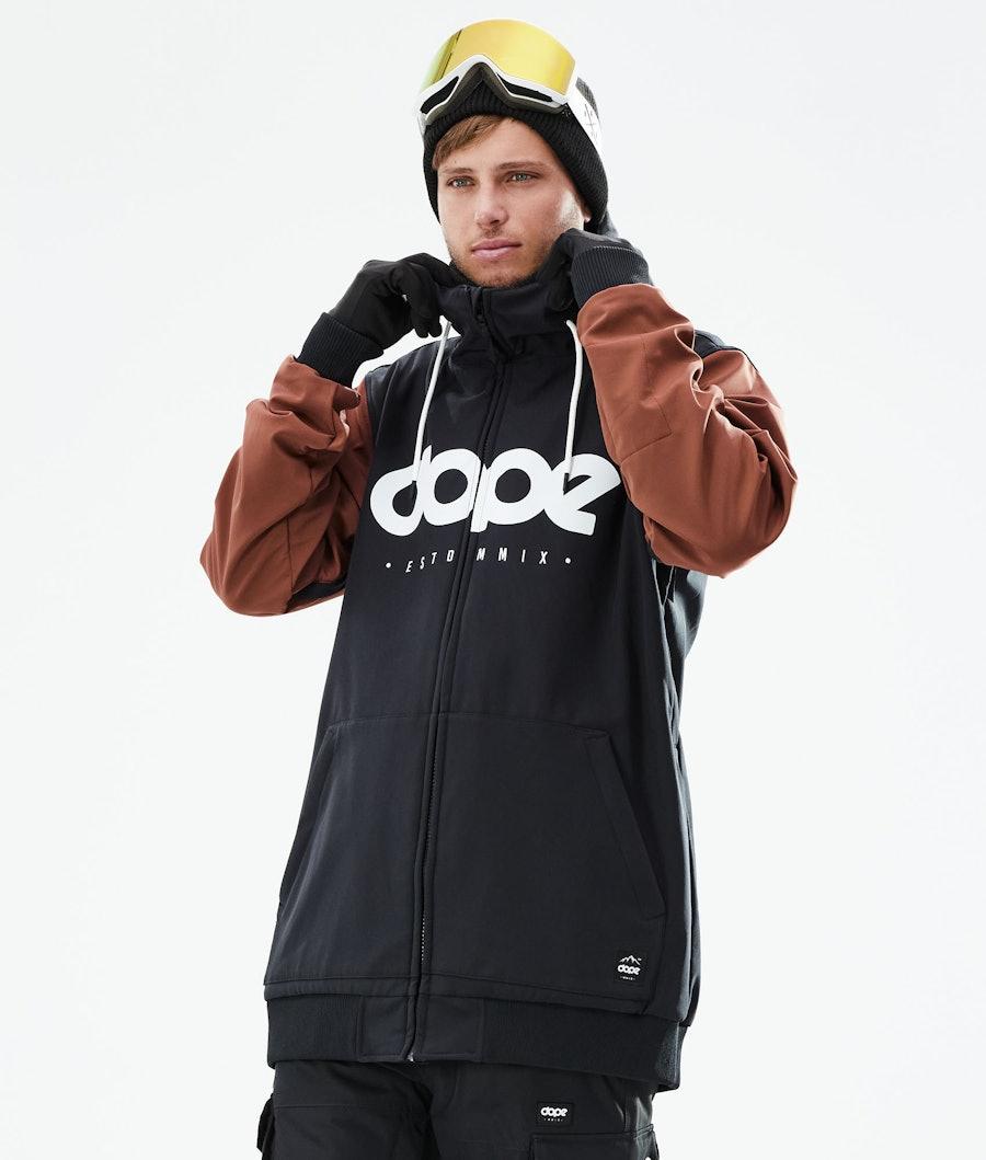 Dope Standard DO Ski Jacket Black/Adobe