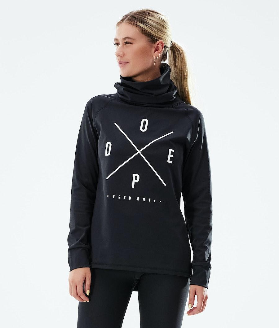 Dope Snuggle 2X-UP W Funktionsshirt Black