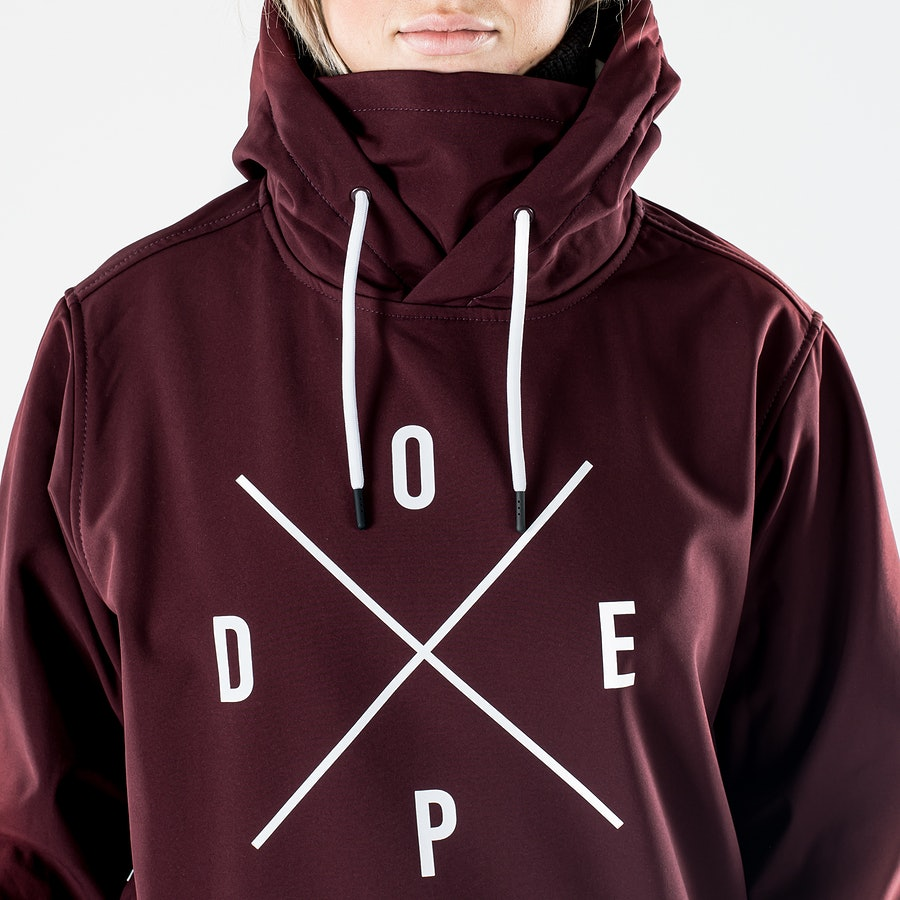 Dope Yeti W Snowboardjacke Damen Burgundy
