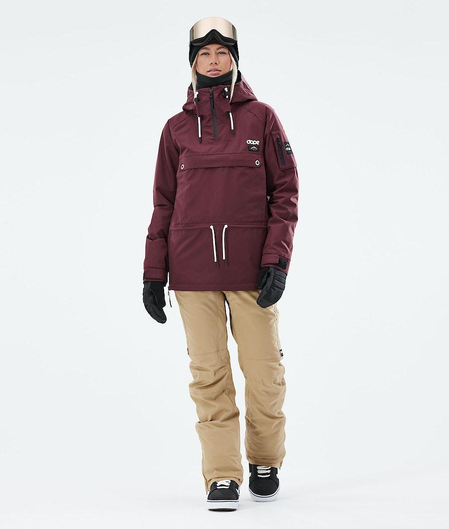 Dope Annok W Snowboardjacke Damen Burgundy