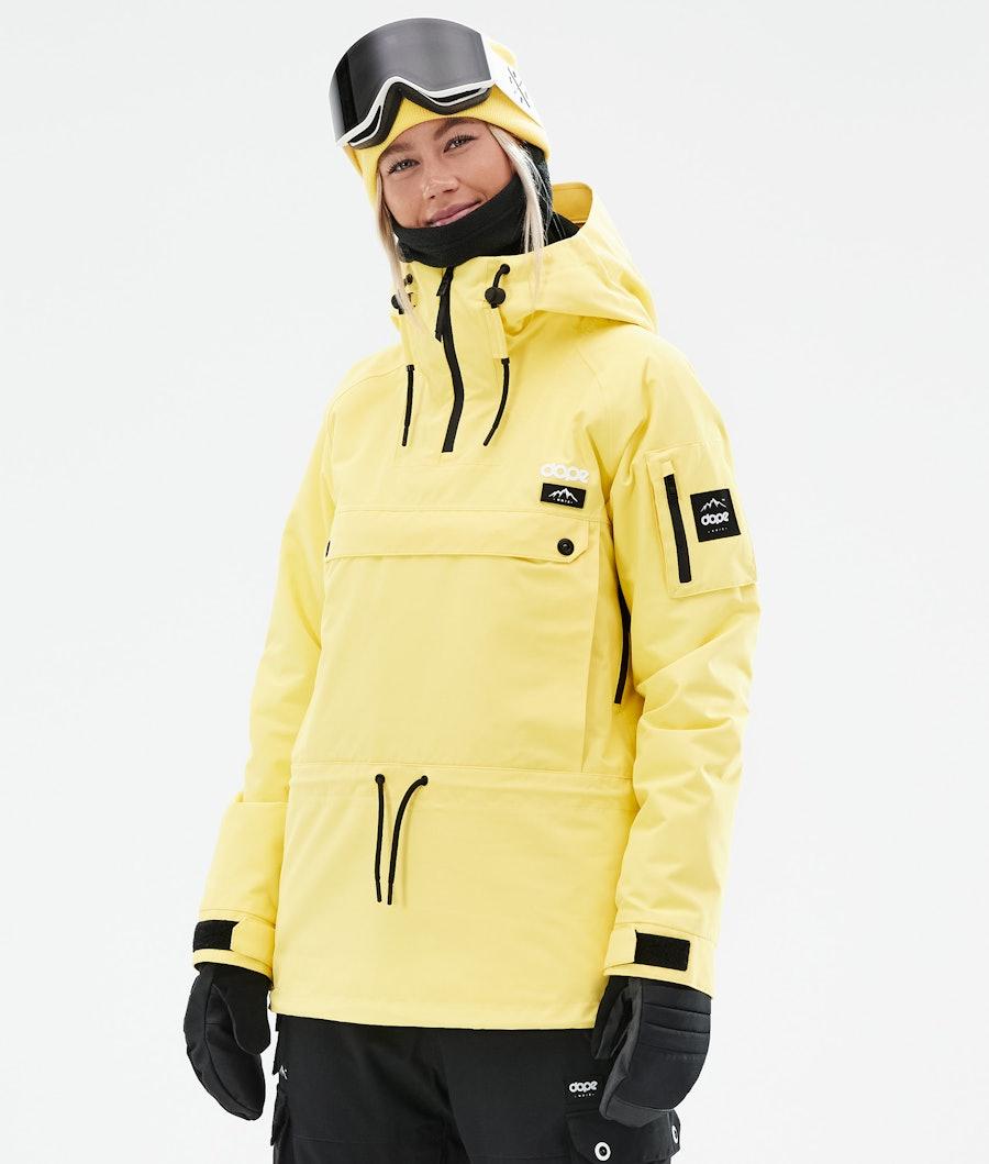 Dope Annok W Ski Jacket Faded Yellow