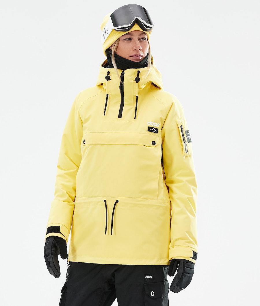 Dope Annok W Snowboardjacke Faded Yellow