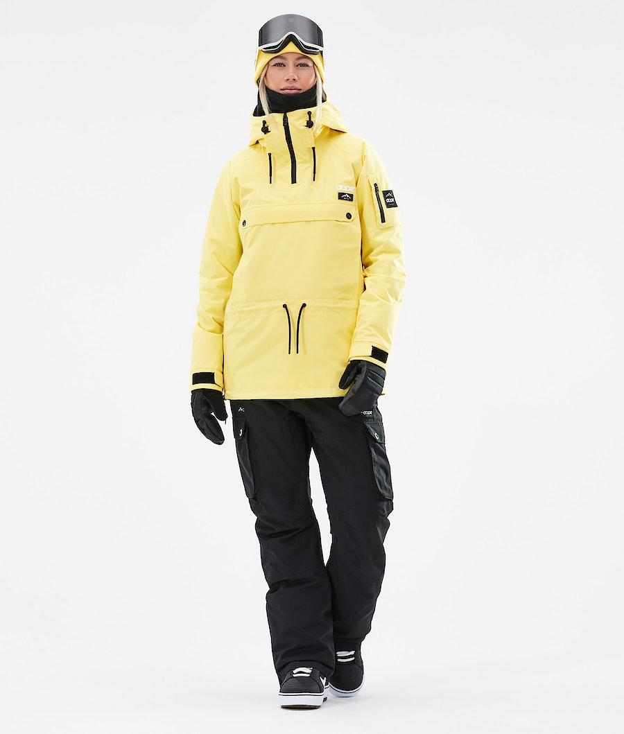 Dope Annok W Snowboardjacke Damen Faded Yellow