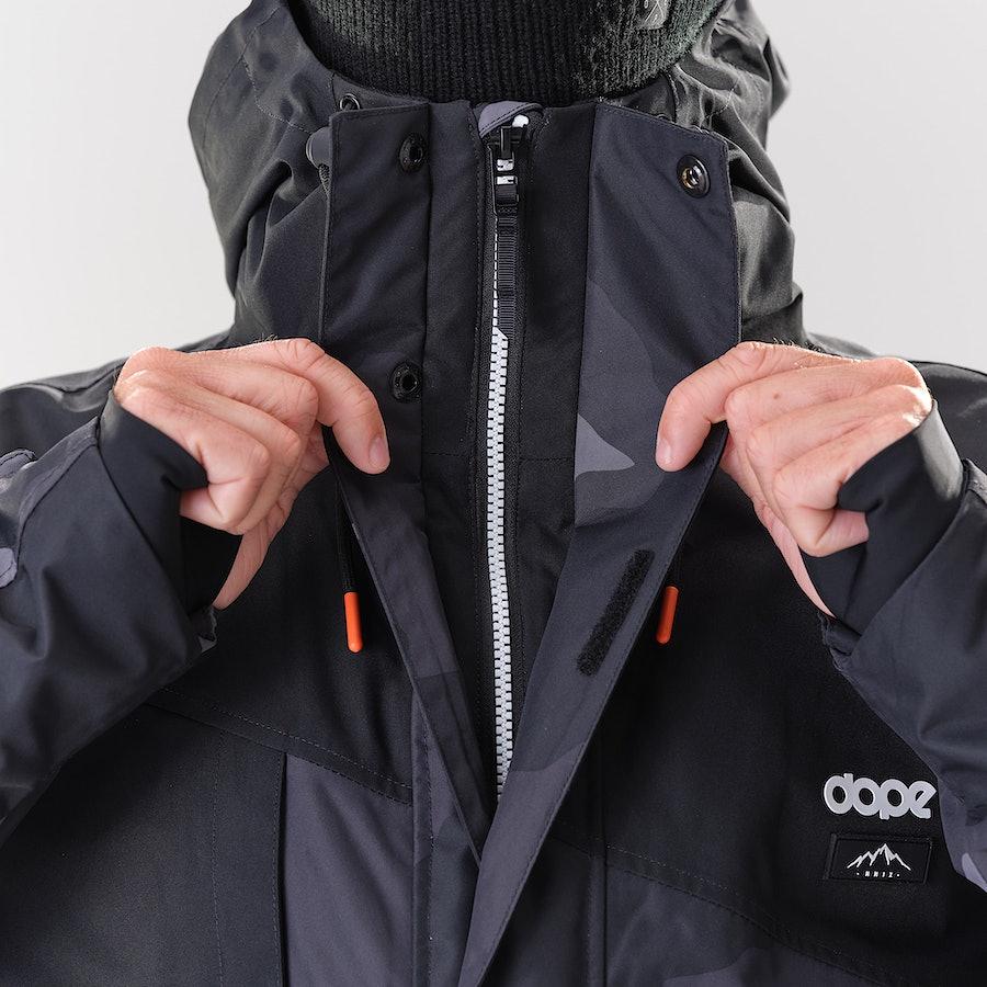 Dope Adept Snowboardjacka Black/Black Camo