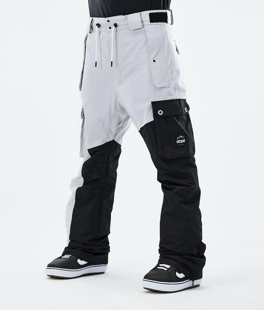 Adept Snowboard Pants Men Light Grey/Black
