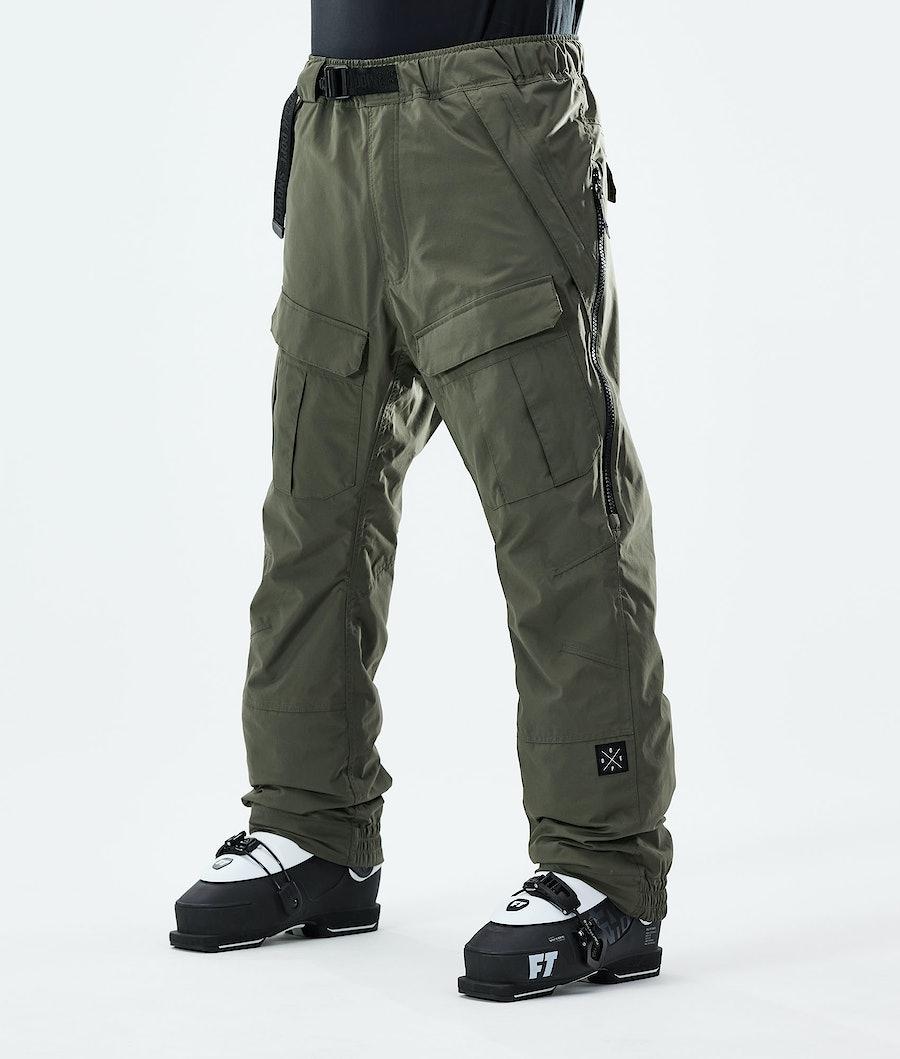 Dope Antek 2020 Ski Pants Olive Green